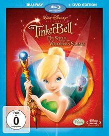 TinkerBell - Die Suche nach dem verlorenen Schatz (+ DVD) [Blu-ray]