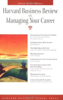Harvard Business Review On Managing Your Career
