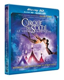 Cirque du Soleil : le voyage imaginaire [Blu-ray 3D]