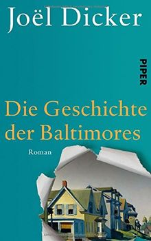 Die Geschichte der Baltimores: Roman