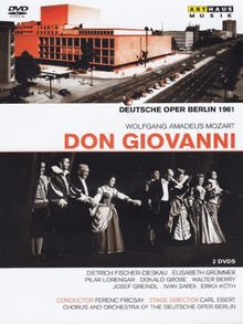 Wolfgang Amadeus Mozart- Don Giovanni [2 DVDs]