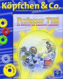 Köpfchen und Co. Professor Tim. Die Rückkehr der verrückten Werkstatt. CD- ROM für Windows 95/98/2000, MacOS ab 8.5