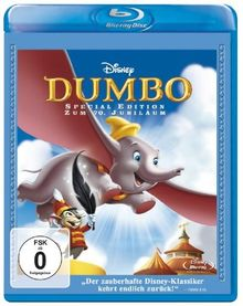 Dumbo - Zum 70. Jubiläum [Blu-ray] [Special Edition]