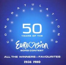 50years O.Eurov.Song Cont56-80