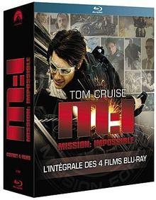 Coffret quadrilogie mission impossible [Blu-ray] [FR Import]