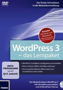 WordPress 3 - Das Lernpaket (PC+MAC)