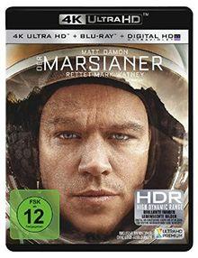 Der Marsianer - Rettet Mark Watney (+ 4K Ultra HD-Bluray) [Blu-ray]