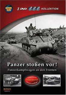 History Films: Panzer stoßen vor! - Panzerkampfwagen an den Fronten (3 DVD Kollektion) (Limitierte EXKLUSIVE Sonderauflage)