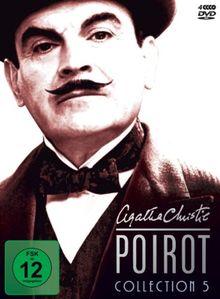 Agatha Christie - Poirot Collection 05 [4 DVDs]