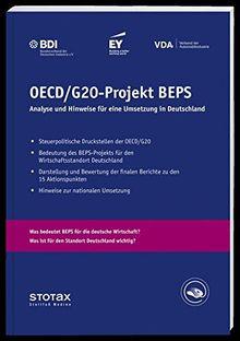 OECD-/G20-Projekt BEPS: Analyse und Empfehlungen für eine Umsetzung in Deutschland