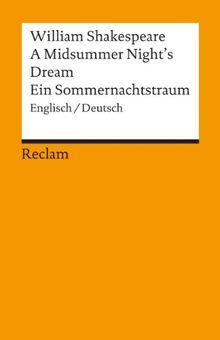 A Midsummer Night's Dream / Ein Sommernachtstraum