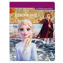 Disney Die Eiskönigin 2 - Verrückte Suchbilder - Wimmelbuch mit tollen Lernspielen und Aufgaben - Pappbilderbuch mit 18 Seiten für Kinder ab 18 Monaten