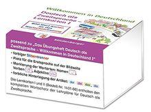 Willkommen in Deutschland - Deutsch als Zweitsprache - Lernkarten I: Bild-Wort-Karten für das Wortschatztraining