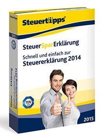 Steuer-Spar-Erklärung 2015 (für Steuerjahr 2014)