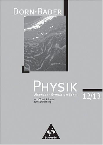 47db47c1fb02 Physik Gymnasium Sek II 12/13 Lösungen incl. CD mit Software
