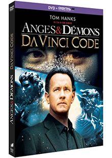 Coffret dan brown 2 films : da vinci code ; anges et démons