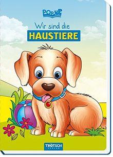 """Pop-up-Buch """"Wir sind die Haustiere"""""""
