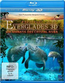 Abenteuer Everglades 3D - Die Manatis des Crystal River (inkl. 2D Version) [3D Blu-ray]
