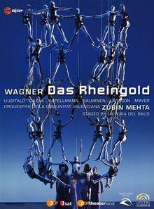 WAGNER - Das Rheingold (staged by La Fura dels Baus) - Zubin Mehta [Blu-Ray]