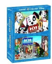 Coffret : les 101 dalmatiens ; 101 dalmatiens 2 sur la trace des heros [Blu-ray]
