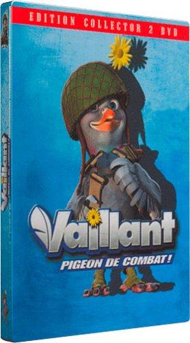 Vaillant pigeon de combat dition collector 2 dvd boitier m tal de gary chapman - Pigeon de combat ...