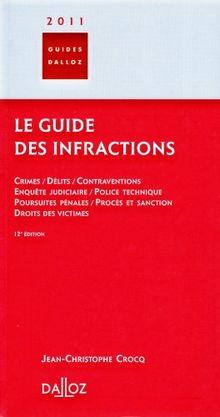Le guide des infractions 2011