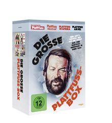 Bud Spencer - Die große Plattfußbox [Remastered Version, 4 DVDs]