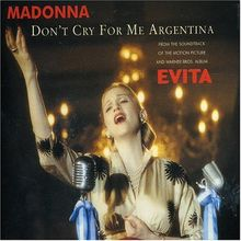 Don't Cry For Me Argentina - CD1