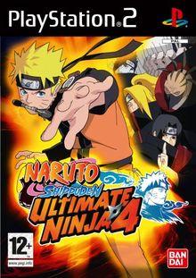 Naruto Shippuden ! Ultimate Ninja 4 [FR Import]