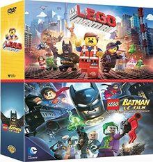 Coffret lego : la grande aventure lego ; lego batman - le film [FR Import]