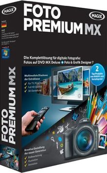 MAGIX Foto Premium MX (V.11): Fotos auf CD & DVD MX Deluxe + Foto & Grafik Designer 7