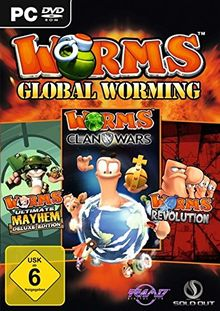 Worms World Triple Pack