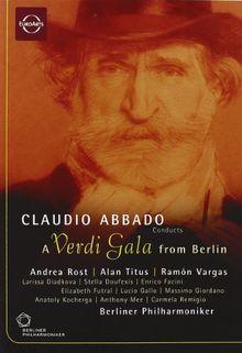 Claudio Abbado - A Verdi Gala in Berlin (NTSC)