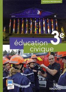 Education civique 3e : Manuel élève