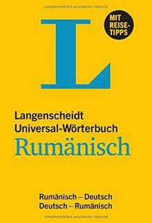 Langenscheidt Universal-Wörterbuch Rumänisch: Rumänisch-Deutsch/Deutsch-Rumänisch (Langenscheidt Universal-Wörterbücher)