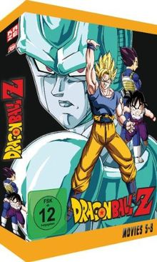 Dragonball Z - Movies 5-8 [4 DVDs]