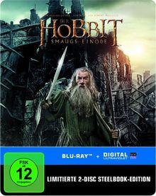 Der Hobbit: Smaugs Einöde Steelbook (exklusiv bei Amazon.de) [Blu-ray] [Limited Edition]