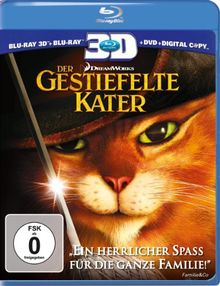 Der Gestiefelte Kater (+ Blu-ray + DVD + Digital Copy) [Blu-ray 3D]