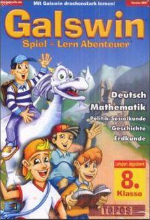 Galswin 2001 8. Klasse Deutsch, Mathematik, Politik/Sozialkunde, Geschichte, Erdkunde, 1 CD-ROM in Kst.-Box