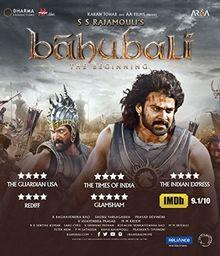 BAHUBALI BLU-RAY (Hindi mit englischem Untertitel) ~ Karan Johar - 2015