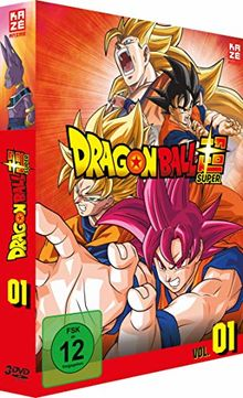 Dragonball Super - 1. Arc: Kampf der Götter - Episoden 1-17 [3 DVDs]