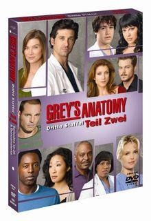 Grey's Anatomy - Die jungen Ärzte - Dritte Staffel, Teil 2 (4 DVDs)