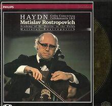 Haydn/Cello Concertos No. 1 & No. 2 - Mstislav Rostropovich (cello) - Academy of St. Martin in the Fields