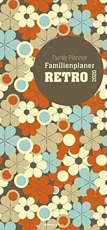 Familienplaner Retro 2020 Familientermine Familientimer 21 X 45 5 Spalten Wandplaner Familienkalender Von Alpha Edition