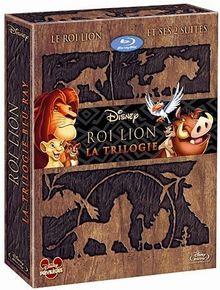 Coffret trilogie le roi lion : le roi lion 1, 2 et 3 [Blu-ray]