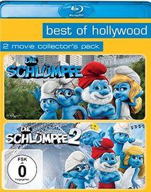 Die Schlümpfe/Die Schlümpfe 2 - Best of Hollywood/2 Movie Collector's Pack [Blu-ray]