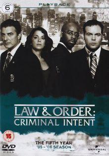 Law & Order: Criminal Intent - Season 5 [6 DVDs] [UK Import]