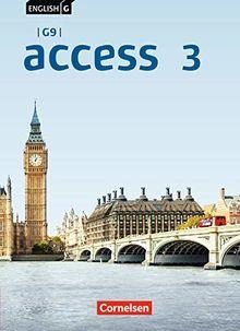 English G Access - G9 - Ausgabe 2019: Band 3: 7. Schuljahr - Schülerbuch: Festeinband