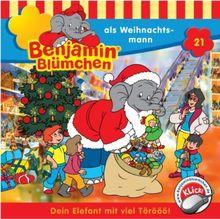 Benjamin Blümchen, Folge 21: Als Weihnachtsmann