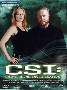 CSI: Crime Scene Investigation - Season 5.1 (3 DVD Digipack)